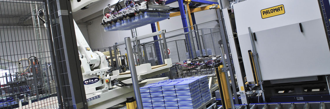 Pallet magazine/ pallet dispencer PALOMAT - An efficient and reliable solution
