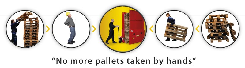 No more pallets taken by hand with PALOMAT